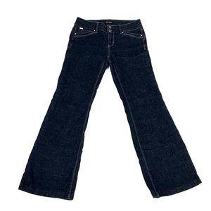 White House Black Market Women's Black Jeans 1002.
